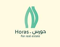 Horas logo design