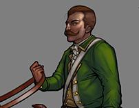 Colonel Boss - Concept Art Process