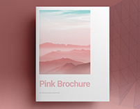 Pink Lifestyle Brochure Template