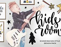 Kids room - design pack