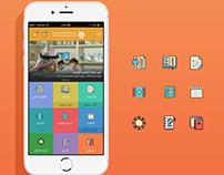UX&UI LMS App