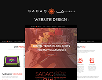 SABAQ | Website Design