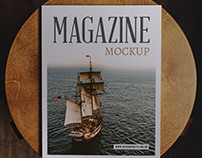 Magazine Mockup 2 Free Psd Download