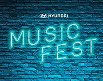 Hyundai Music Fest.