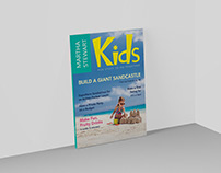 "Martha Stewart Kids Magazine: August 2004 ""Re-Design"""