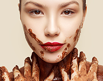 Chocolate girl