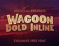 Wagoon Bold Inline - Free Font Deeezy