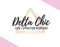Delta Chic | Life & Style Logo