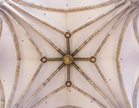 Bilbao Cathedral Ceiling