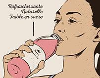 Mama kombucha // poster