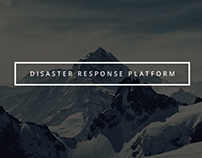 Disaster Response Platform Application Design