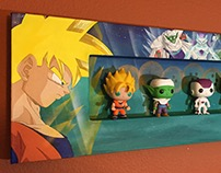 [Acrylic Painting] Dragon Ball Display Box