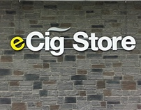 eCig Store Branding
