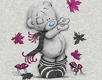 Tatty Teddy Autumn 2015 Ladies Nightwear - Print