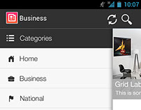 News feed app - Android