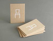 Design logo / card wooden furniture manufacturer Eeken