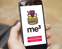 me3 Food App Logo Design and Brand Development