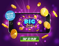 Slots element (marketing, UI, background)
