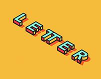 Isometric Letter