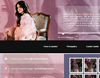 Camila Cabello Daily Wordpress Theme v.01