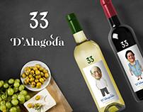 Vinhos 33 D'Alagôda
