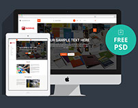Landing Page Design (Free Download)