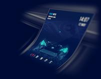 "Car dashboard ""Welcome"" animation"