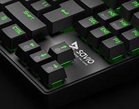 SAVIO Keyboard / Product CGI & Packaging Design