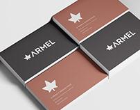 Armel - Logotipo e identidade visual