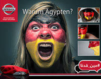 "Nissan ""مين قدنا"" Campaign"