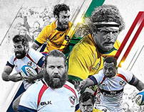 RUGBY Posters - Initial Creative Concepts