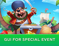 Pirate Treasures: GUI for Special Event