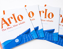 Arlo the blue, blue whale | Children's Book