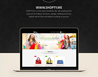 Shopty - free local classifieds site
