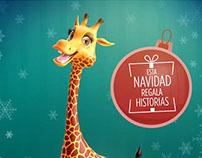 """Spot TV """" Navidad Jirafa 50%"""""""