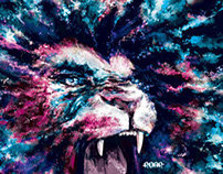 :ROAR: - poster illustrations