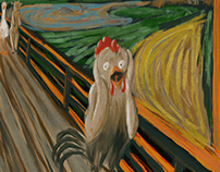 "#MunchContest ""Scream in the farm"""
