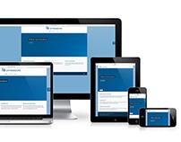 WordPress responsive site Extremadura