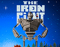 The Iron Giant in Giant Pixels