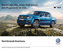 VW Amarok – a MAGROUND adventure