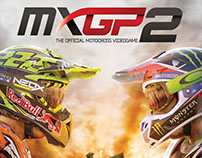 MXGP 2 - 2D/UI Graphic