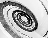 Organic Stairwell
