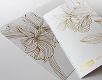 Polus Gold greeting card
