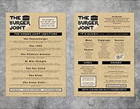 The Burger Joint - Branding