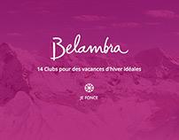 Belambra •Website