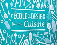 - L'École de Design fait  sa cuisine -