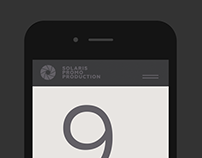 Solaris. Brand identity + website
