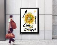 """Poster food design """"Ciriole alla Ternana"""" / 2015"""