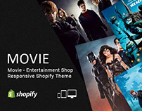 Movie – Entertainment Shop Responsive Shopify Theme