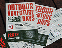 Outdoor Adventure Days brochure